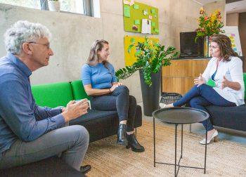 Ons kantoor: Nico Siffels, Saskia de Schutter en Rieneke Schouwenaar