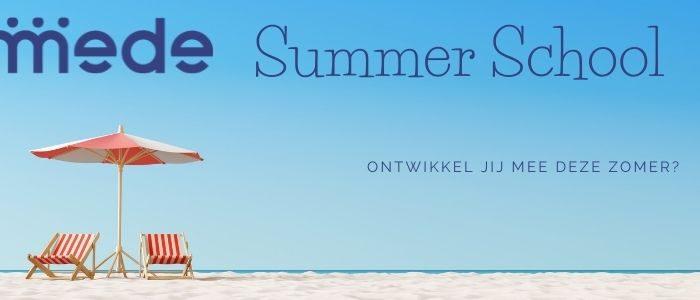 Afbeelding voor MEDE Summer School: